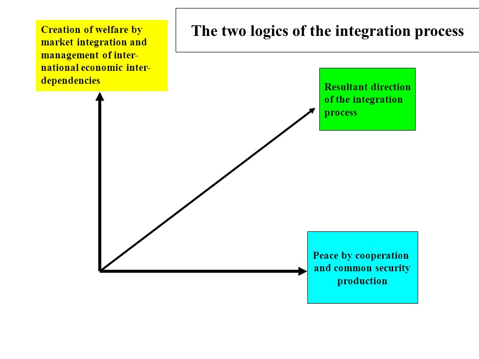 The two logics of the integration process