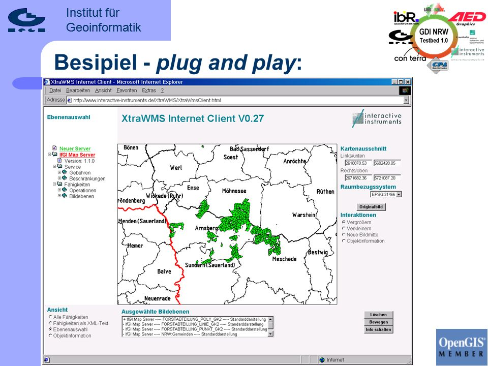 Besipiel - plug and play: