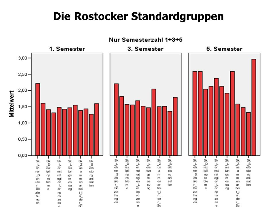 Die Rostocker Standardgruppen