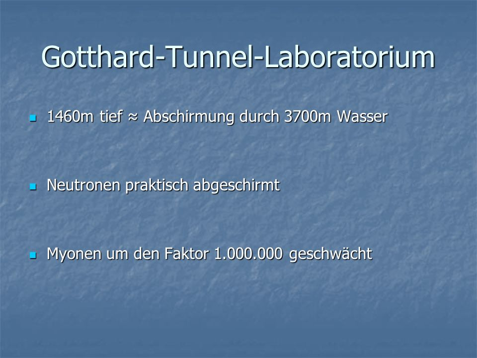 Gotthard-Tunnel-Laboratorium