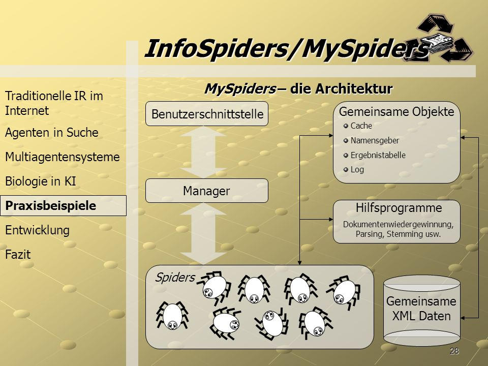 InfoSpiders/MySpiders