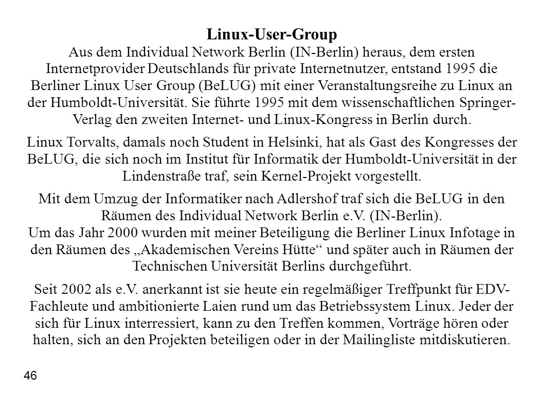 Linux-User-Group