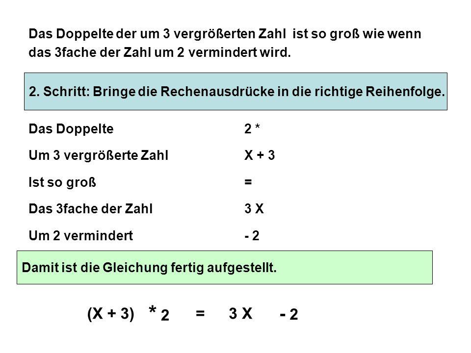 Textgleichungen mit mathematischen Begriffen in mathematische ...