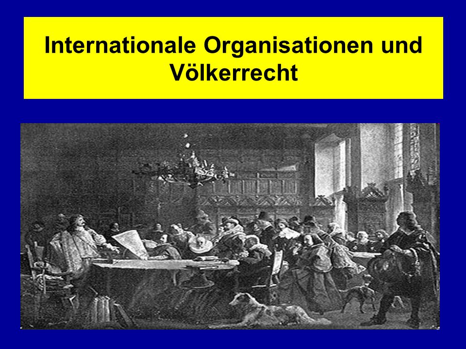 Internationale Organisationen und Völkerrecht