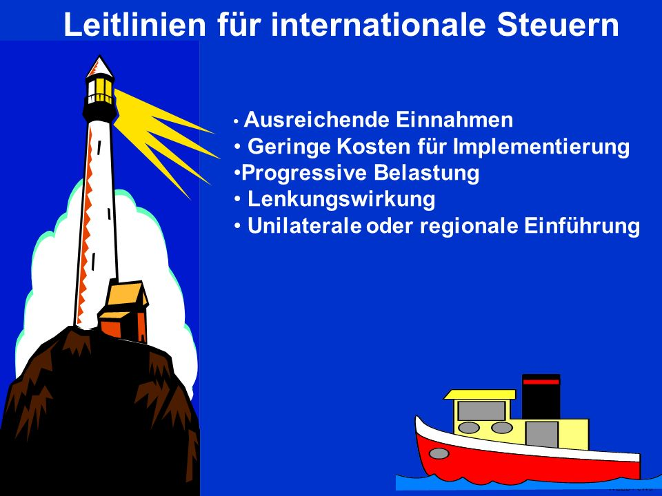 Leitlinien für internationale Steuern
