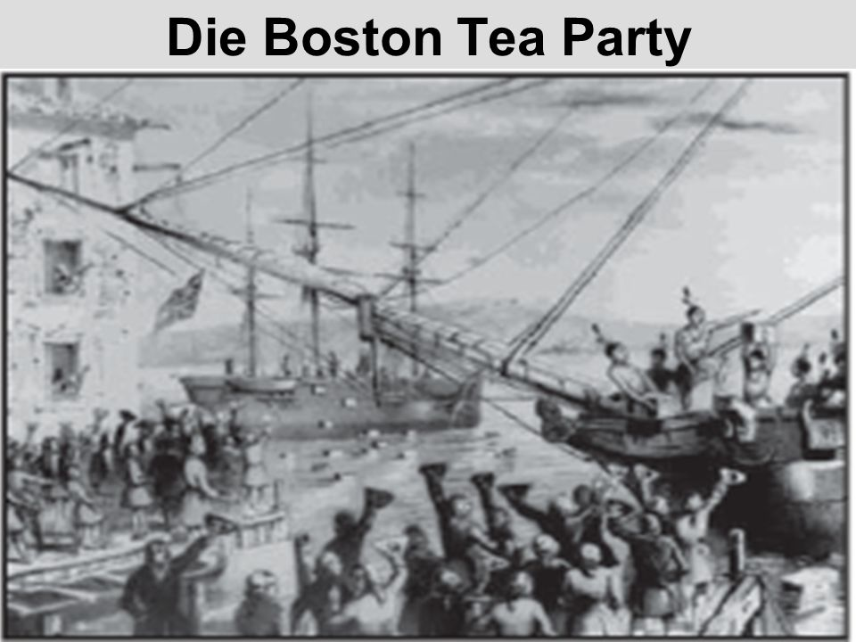 Die Boston Tea Party