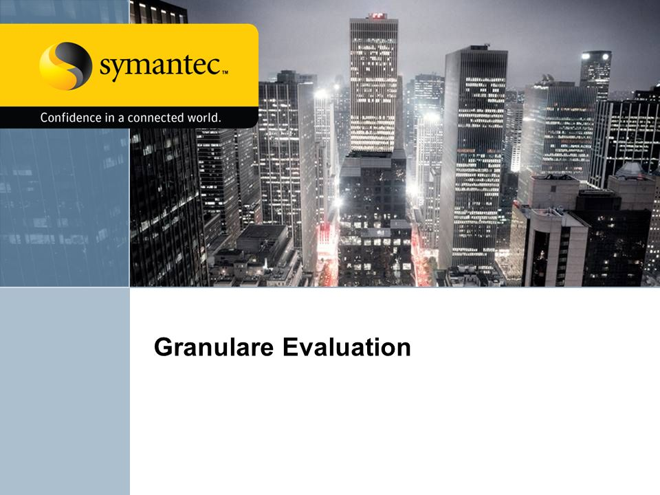 Granulare Evaluation