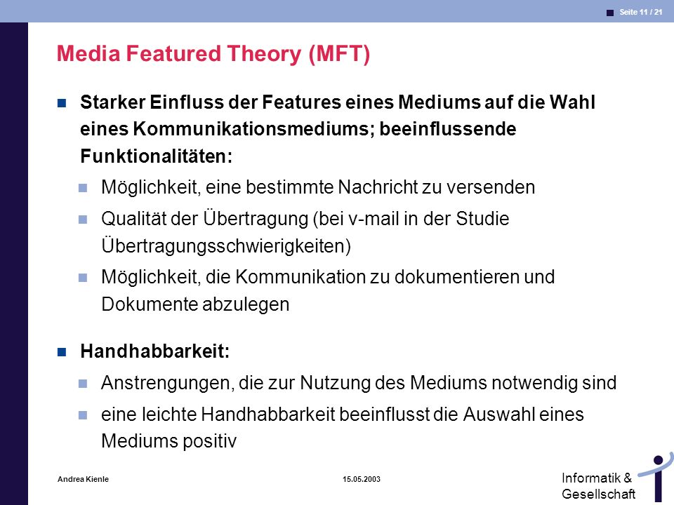 Media Featured Theory (MFT)
