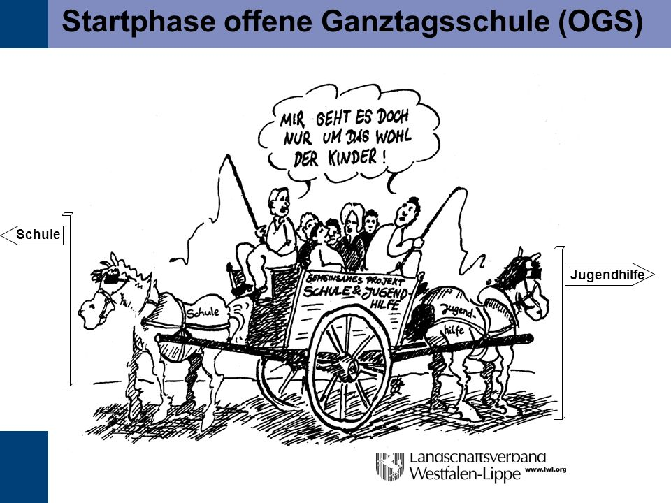 Startphase offene Ganztagsschule (OGS)