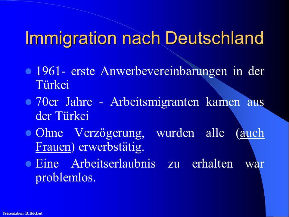 Immigration nach Deutschland