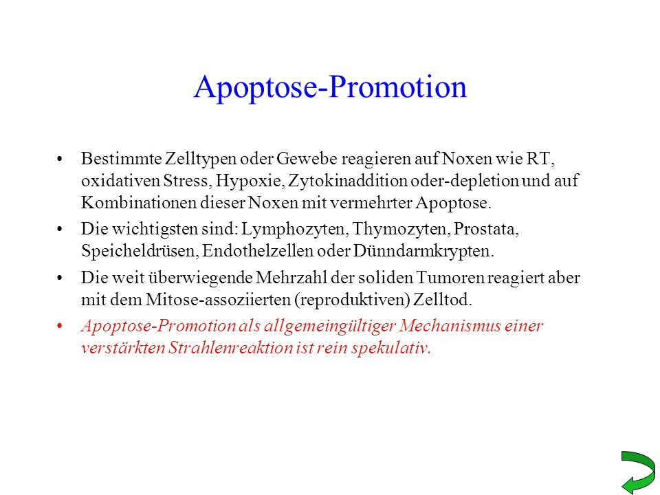 Apoptose-Promotion