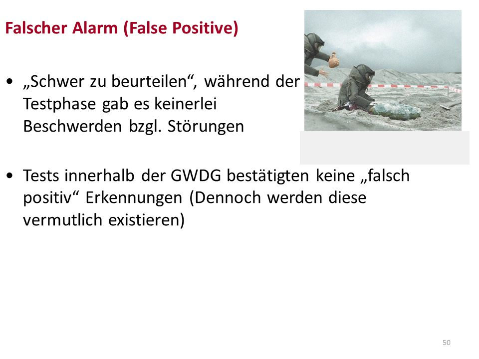 Falscher Alarm (False Positive)