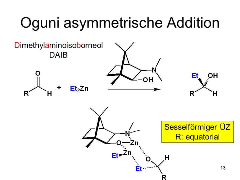 Oguni asymmetrische Addition