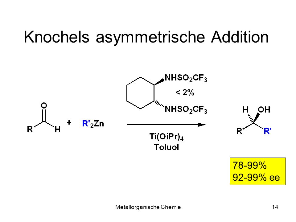 Knochels asymmetrische Addition