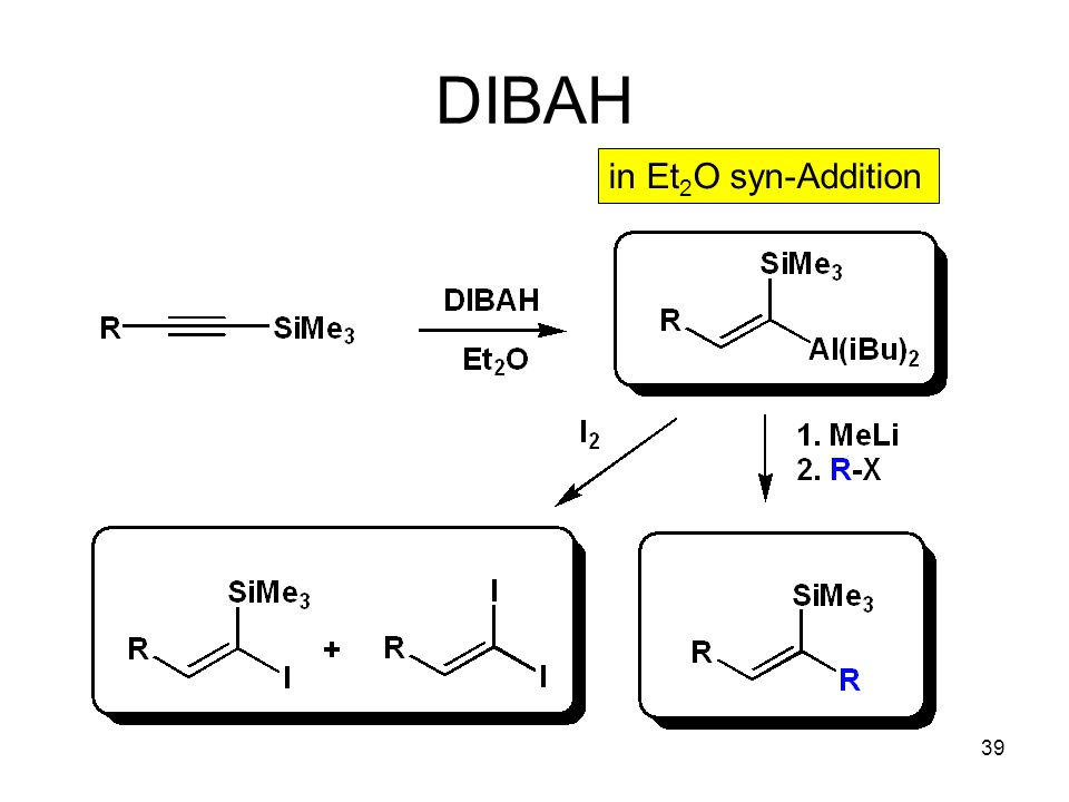 DIBAH in Et2O syn-Addition