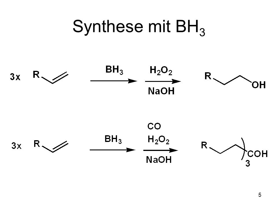 Synthese mit BH3