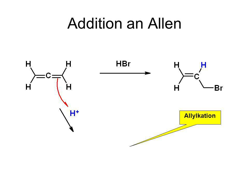 Addition an Allen Allylkation