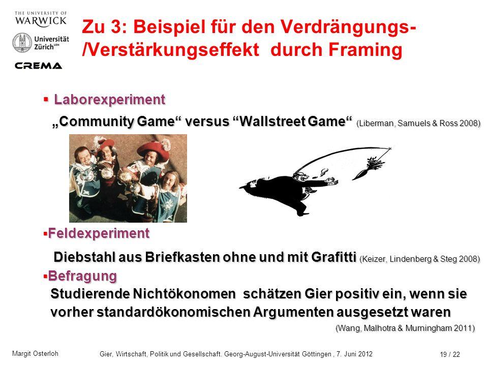 Zwei Definitionen von (Hab)-Gier aus der Sicht der Ökonomik - ppt ...