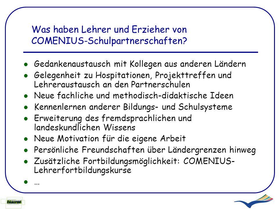 Partnersuche comenius