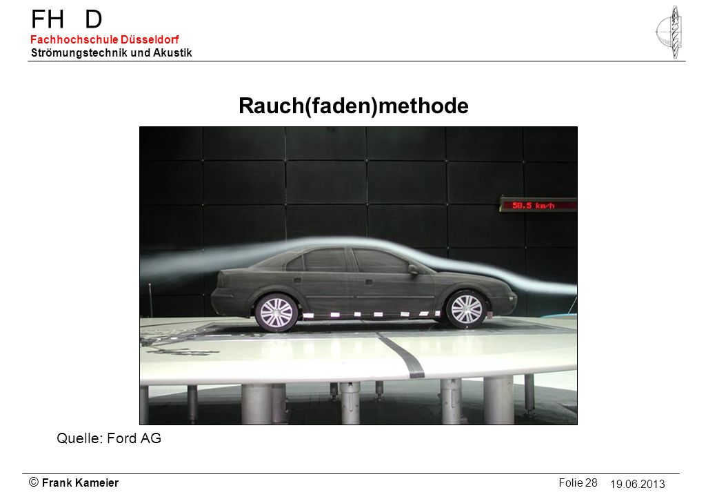 Rauch(faden)methode Quelle: Ford AG