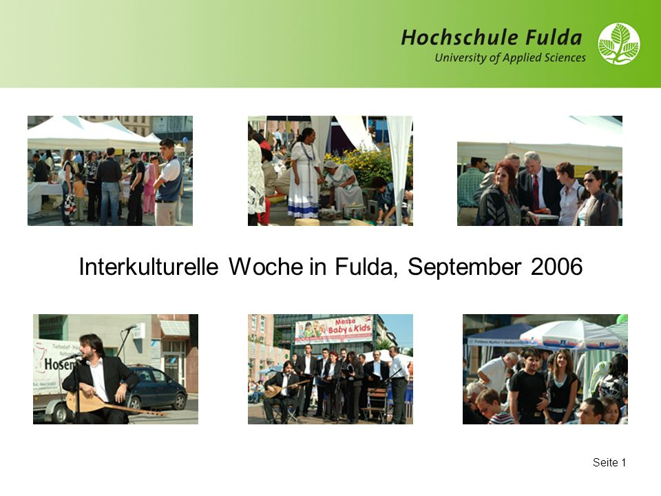 Interkulturelle Woche in Fulda, September 2006