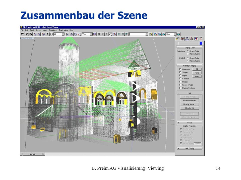 B. Preim AG Visualisierung Viewing