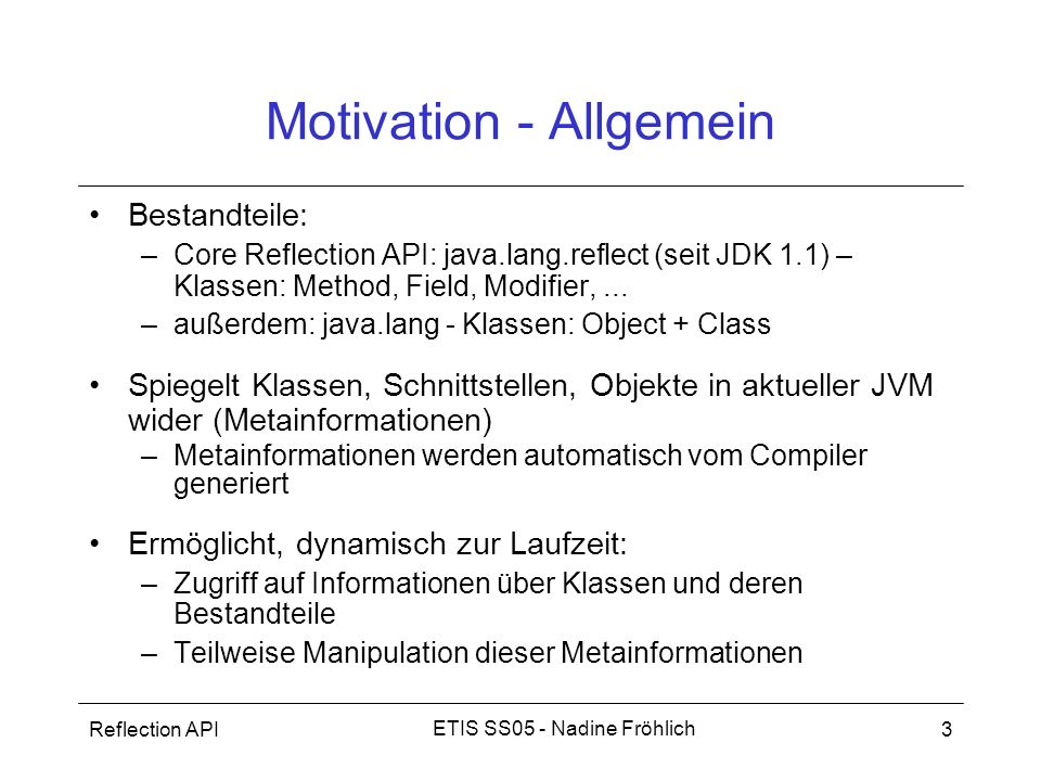 Motivation - Allgemein