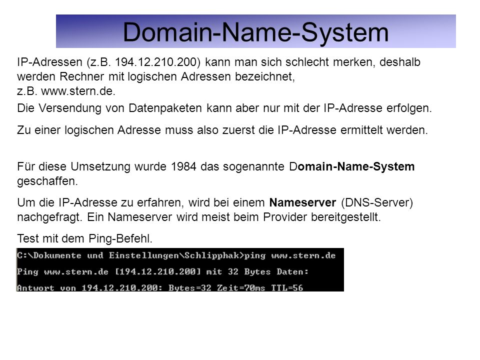 Domain-Name-System