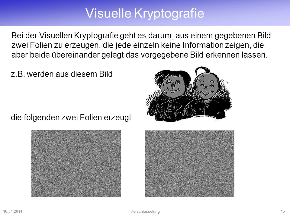 Visuelle Kryptografie