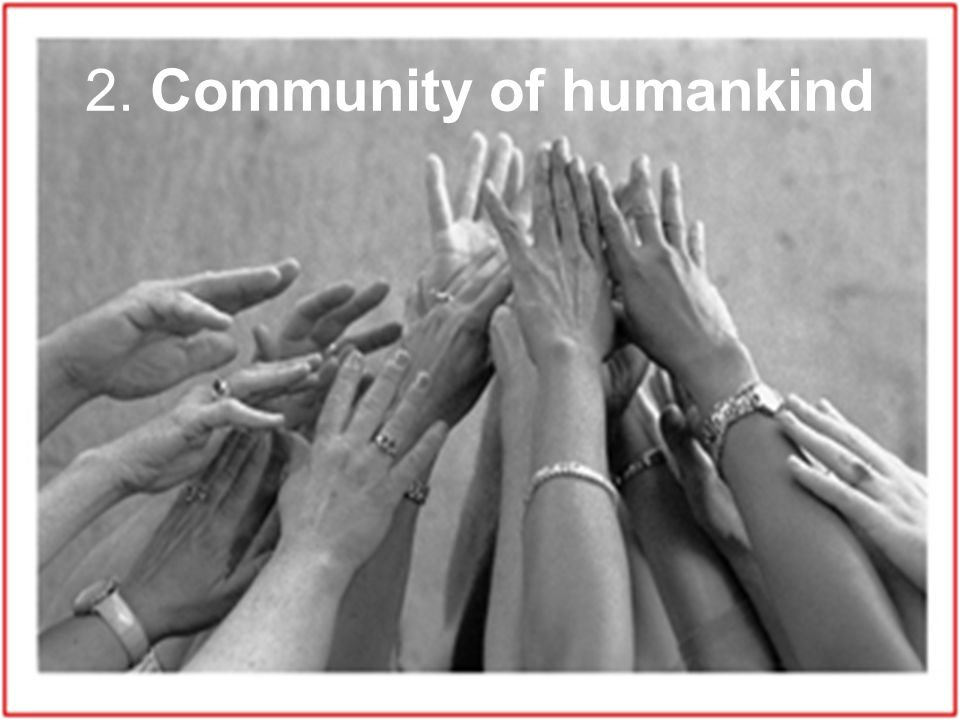 2. Community of humankind