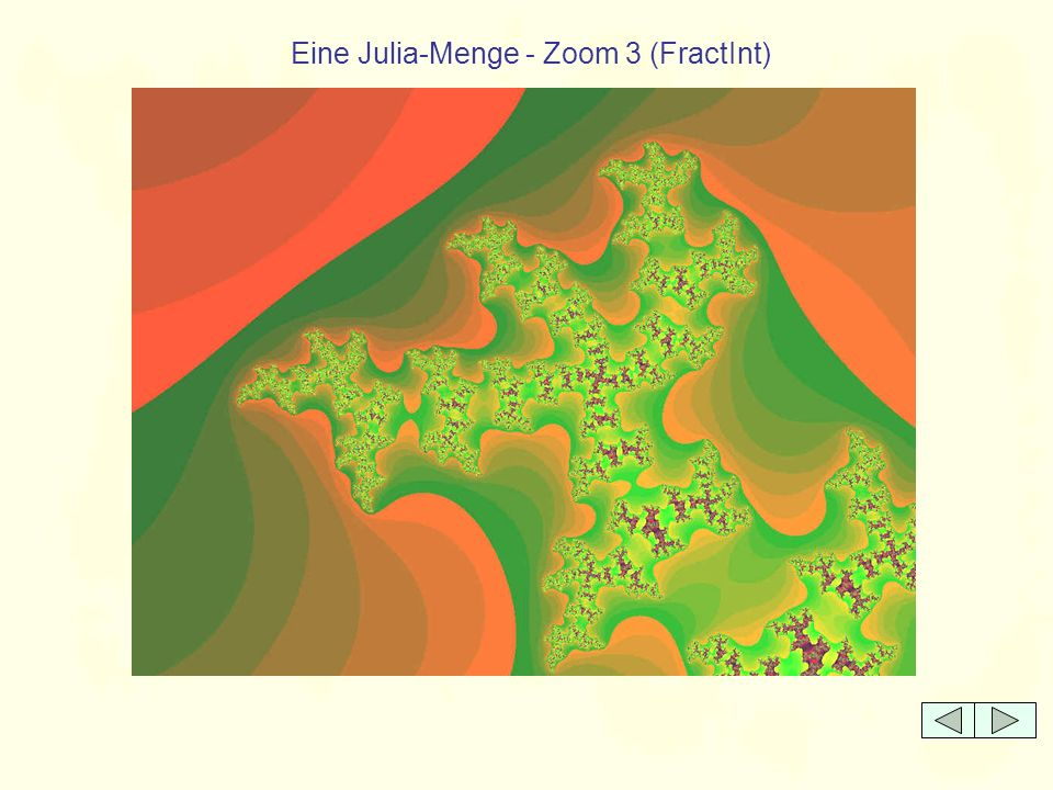 Eine Julia-Menge - Zoom 3 (FractInt)