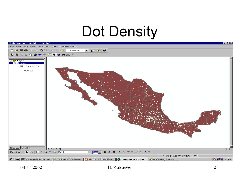 Dot Density B. Kaldewei