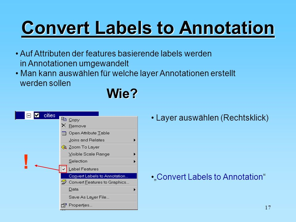 Convert Labels to Annotation