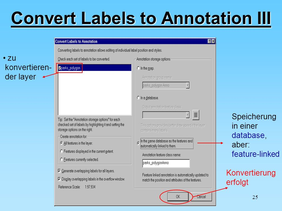 Convert Labels to Annotation III