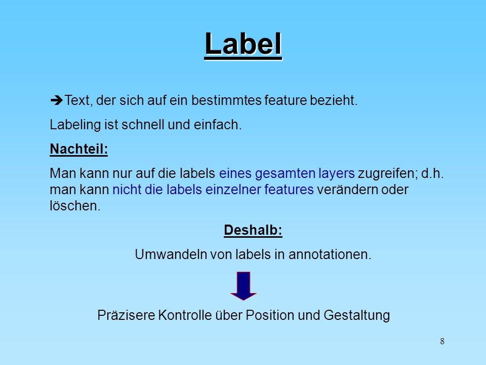 Umwandeln von labels in annotationen.