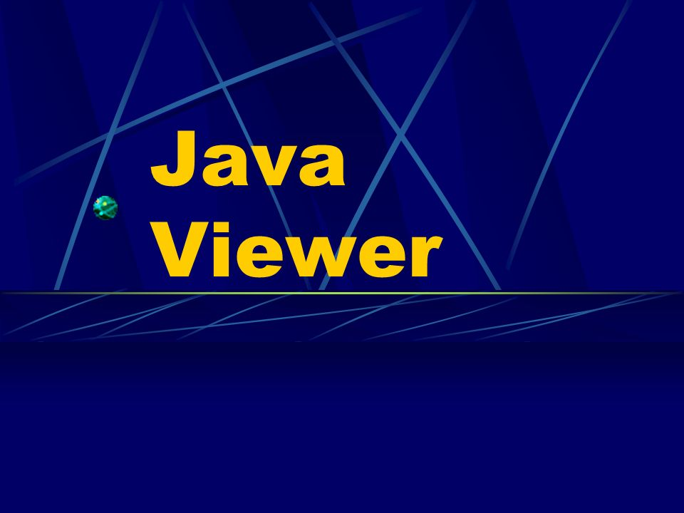 Java Viewer