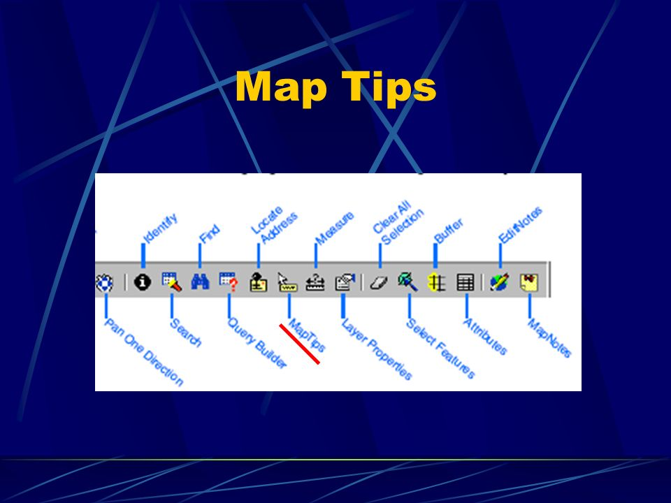 Map Tips