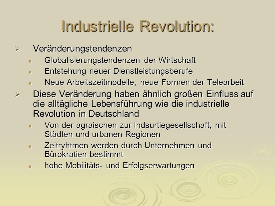 Industrielle Revolution: