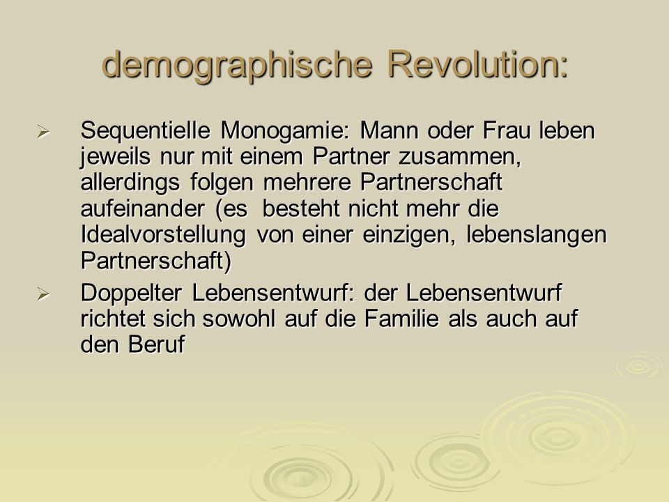 demographische Revolution: