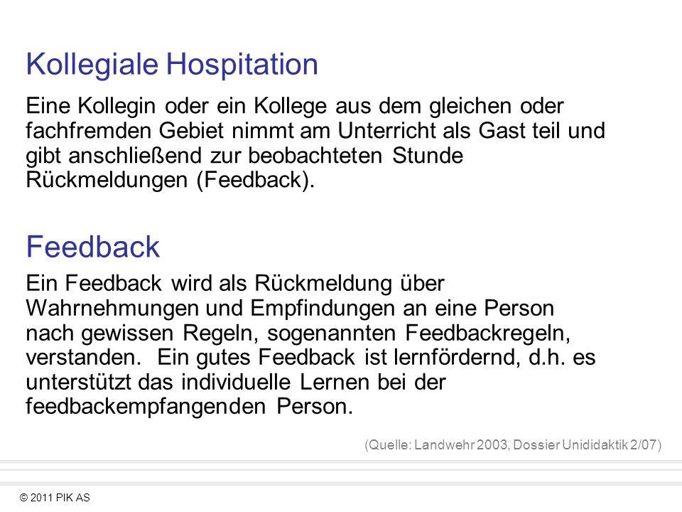 Kollegiale Hospitation Mit Anschliessendem Feedback In Der Schule Ppt Video Online Herunterladen