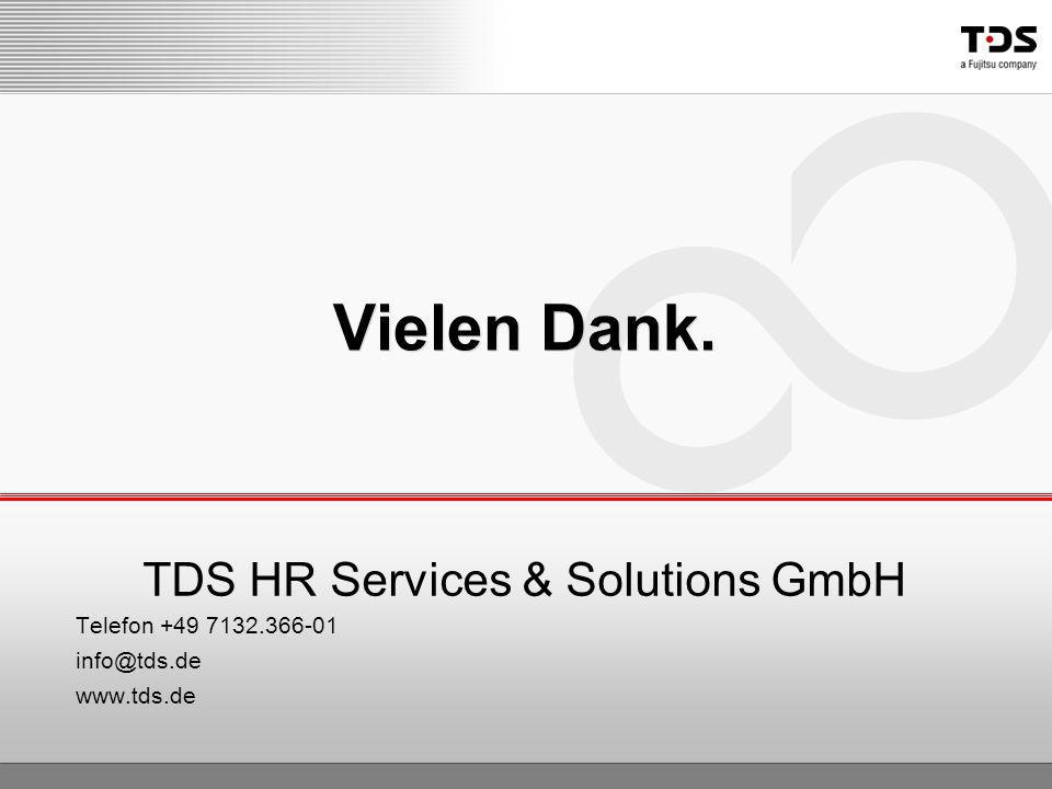 TDS HR Services & Solutions GmbH