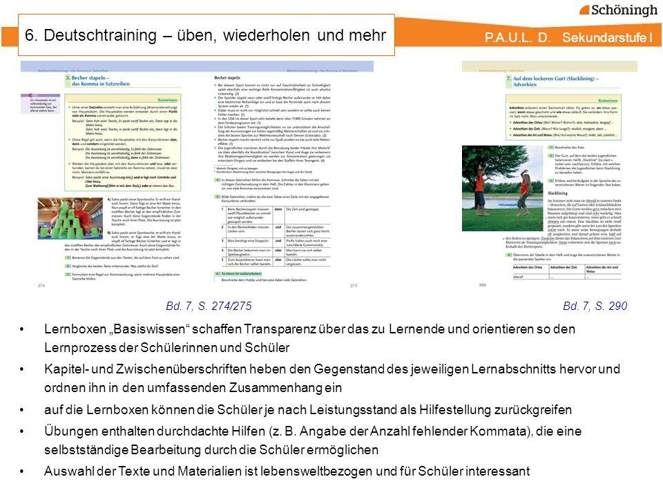P.A.U.L. D. Persönliches Arbeits- und Lesebuch Deutsch - ppt ...