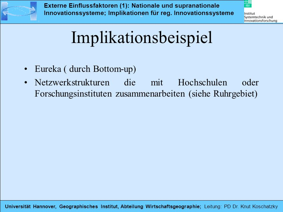 Implikationsbeispiel