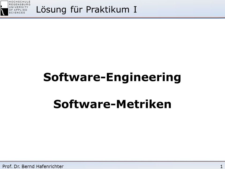 Software-Engineering