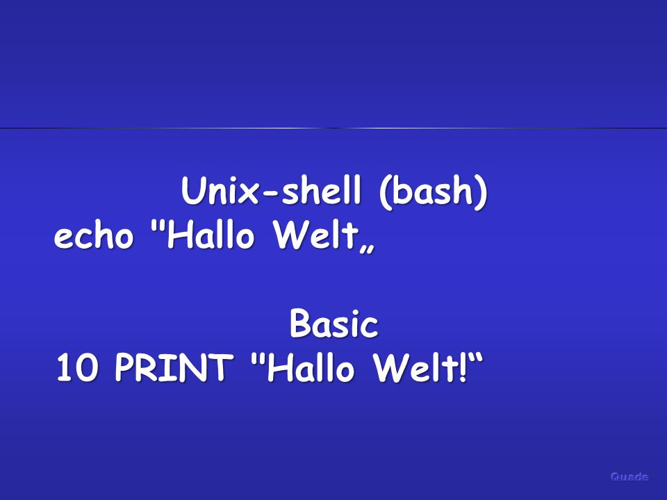 Unix-shell (bash) Basic