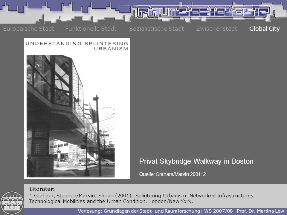 Privat Skybridge Walkway in Boston