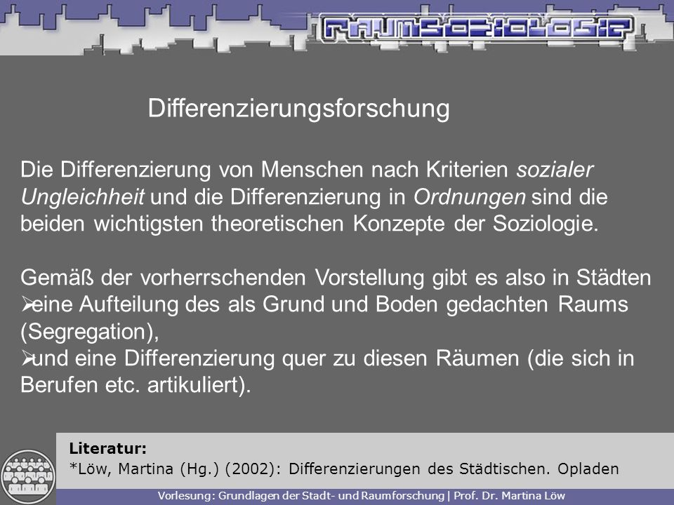 Differenzierungsforschung