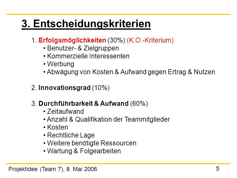 """Projektidee """"Innovatives und erfolgreiches Internet-Unternehmen ..."""
