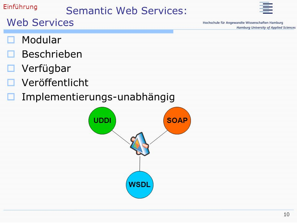 Semantic Web Services: Web Services