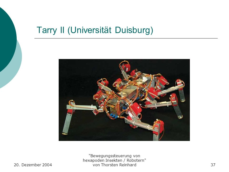 Tarry II (Universität Duisburg)